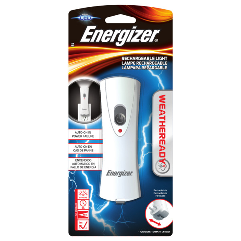 Energizer Weatheready Rechargeable Led Light White