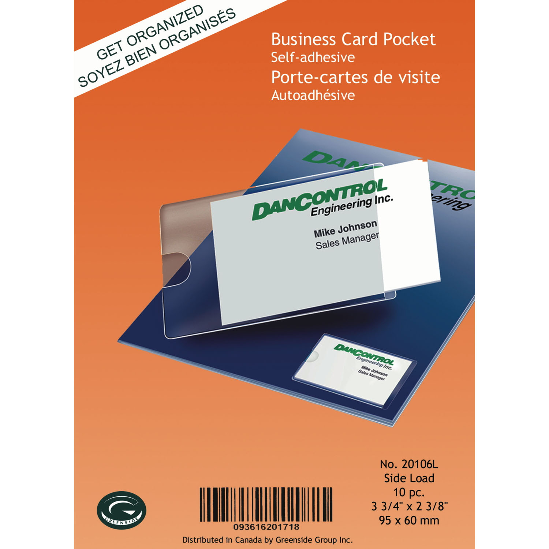 Greenside Self Adhesive Business Card