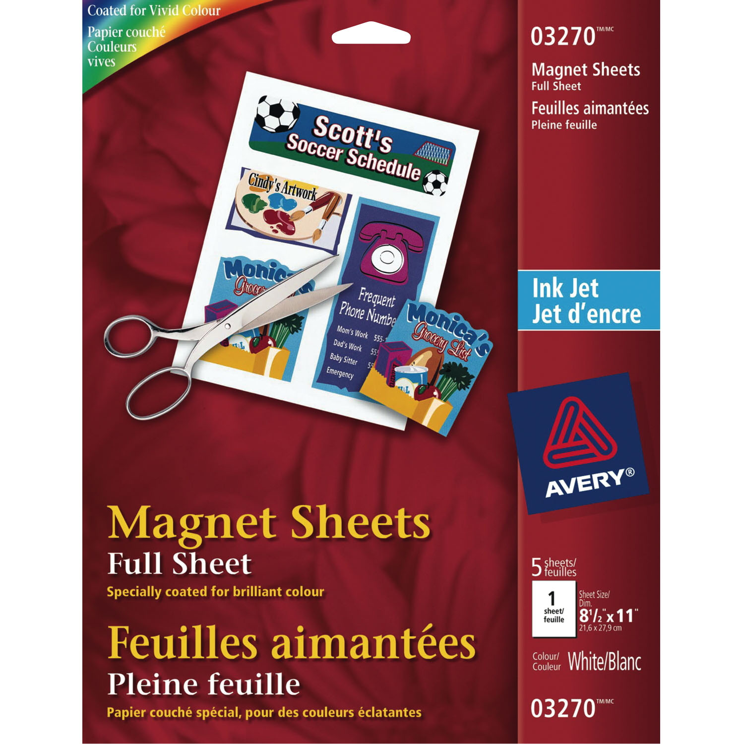Nifty image pertaining to avery printable magnet sheets