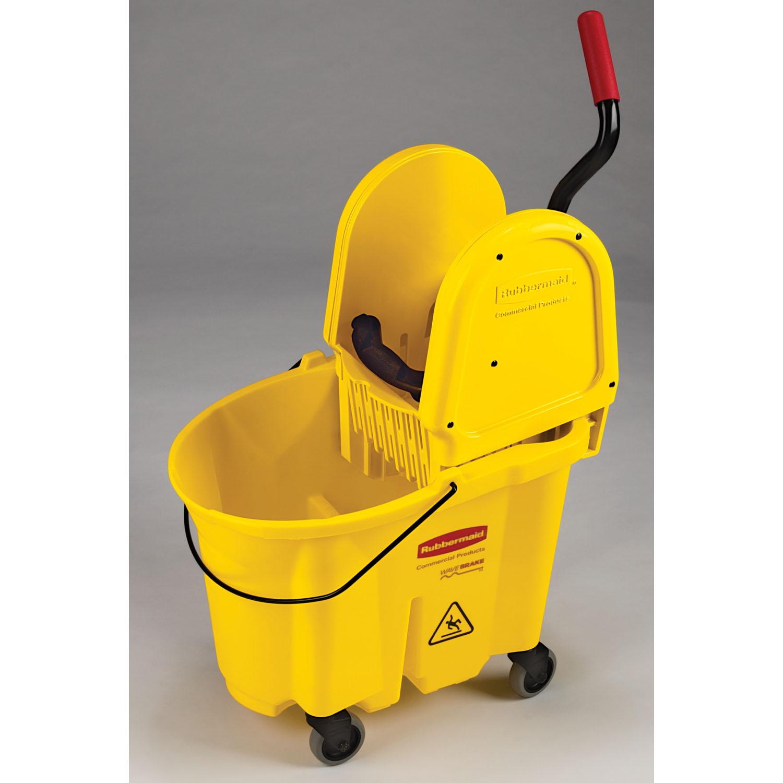 Rubbermaid mop bucket wheels home depot shower door sweep canadian tire