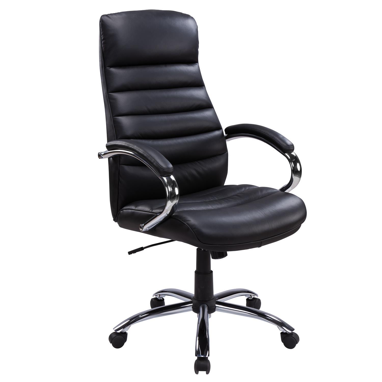 fauteuil de bureau moderne dossier haut avec appui t te. Black Bedroom Furniture Sets. Home Design Ideas