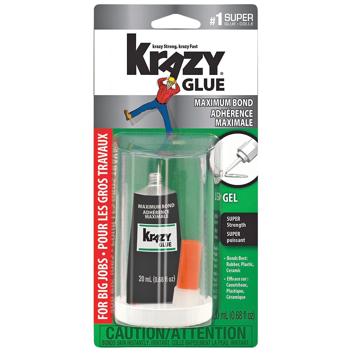 how to open krazy glue maximum bond