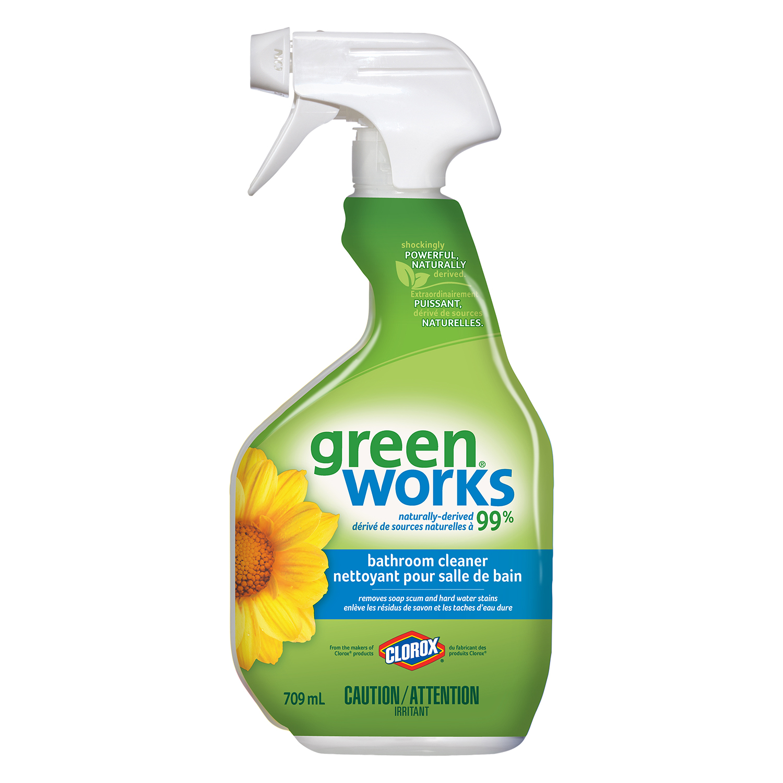 Clorox Green Works Bathroom Cleaner Spray, 709 ML