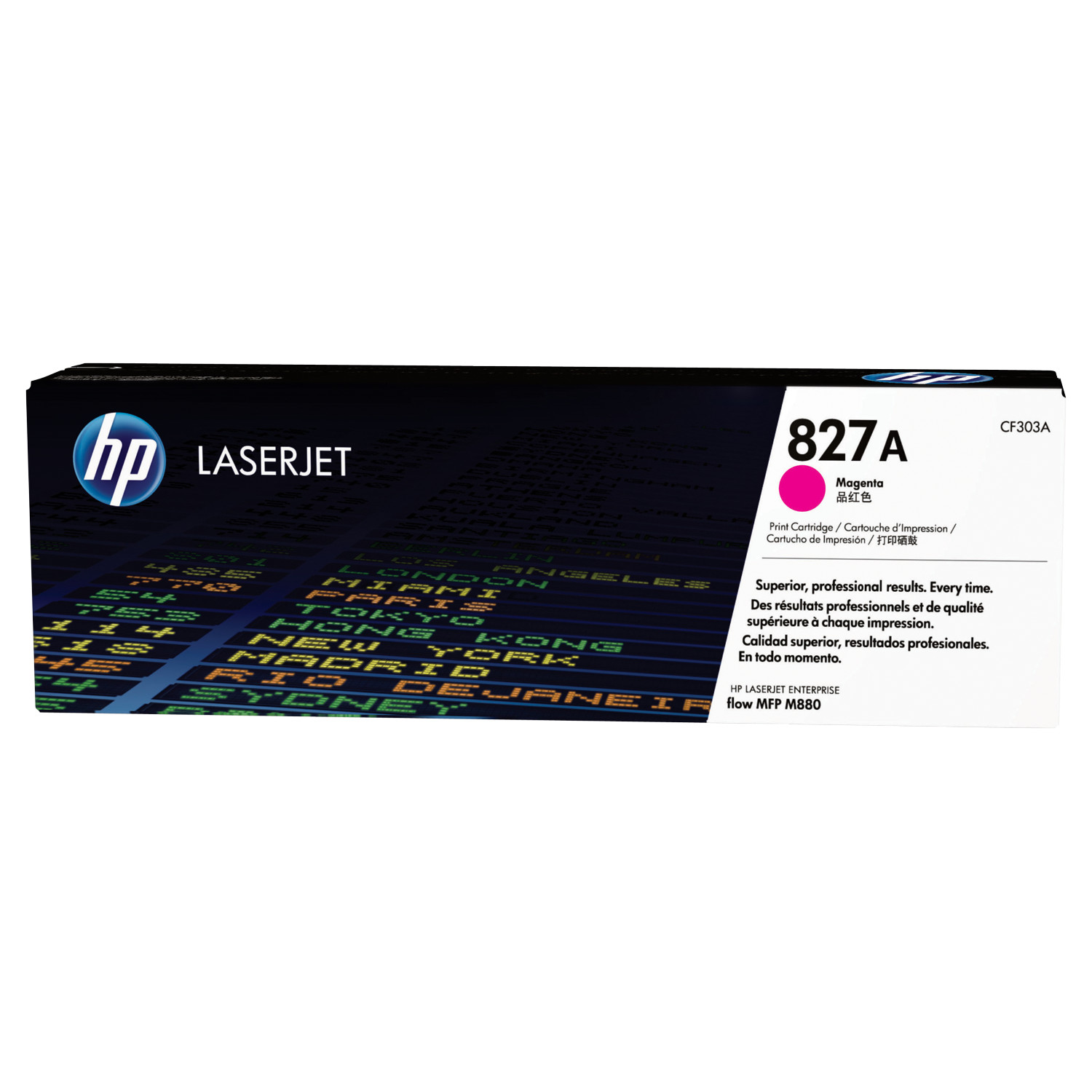 hp 827a cf303a cartouche de toner hp laserjet magenta d 39 origine grand toy. Black Bedroom Furniture Sets. Home Design Ideas