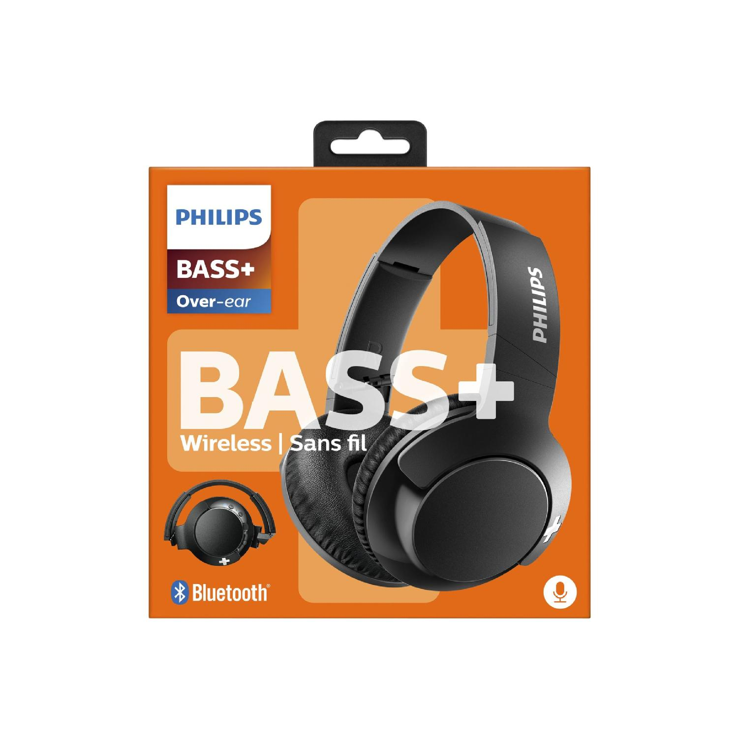 Philips Bass Shb3175bk Headphones With Mic Grand Toy