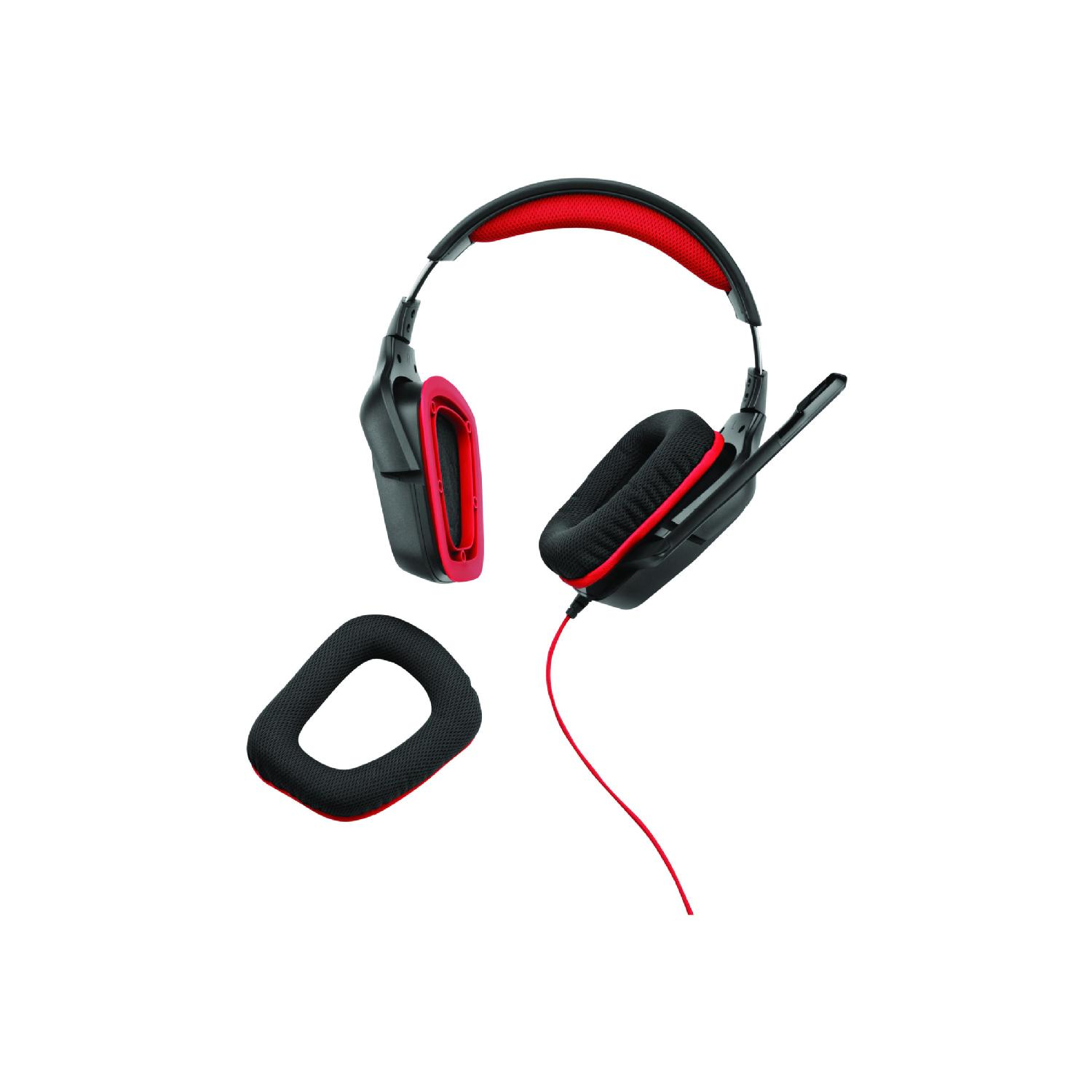 981-000541 Logitech G230 Stereo Gaming Noise-cancelling Wired Headset
