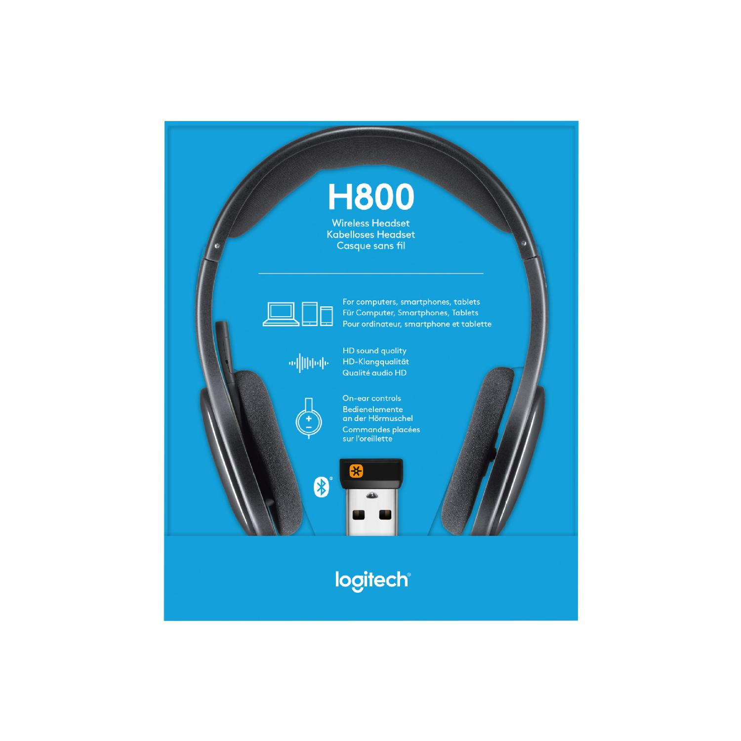 Logitech Wireless Headset H800 Headset Grand Toy