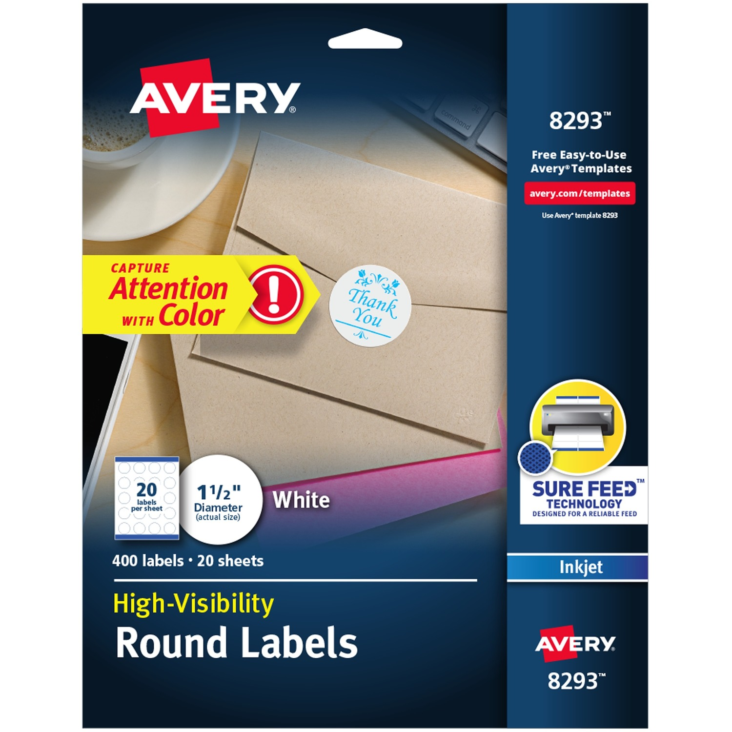 It is a photo of Exceptional Avery Labels 8293 Walmart
