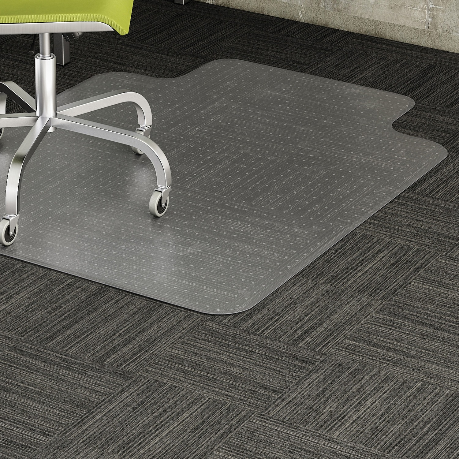 Lorell Standard Lip Low Pile Chairmat Grand Amp Toy