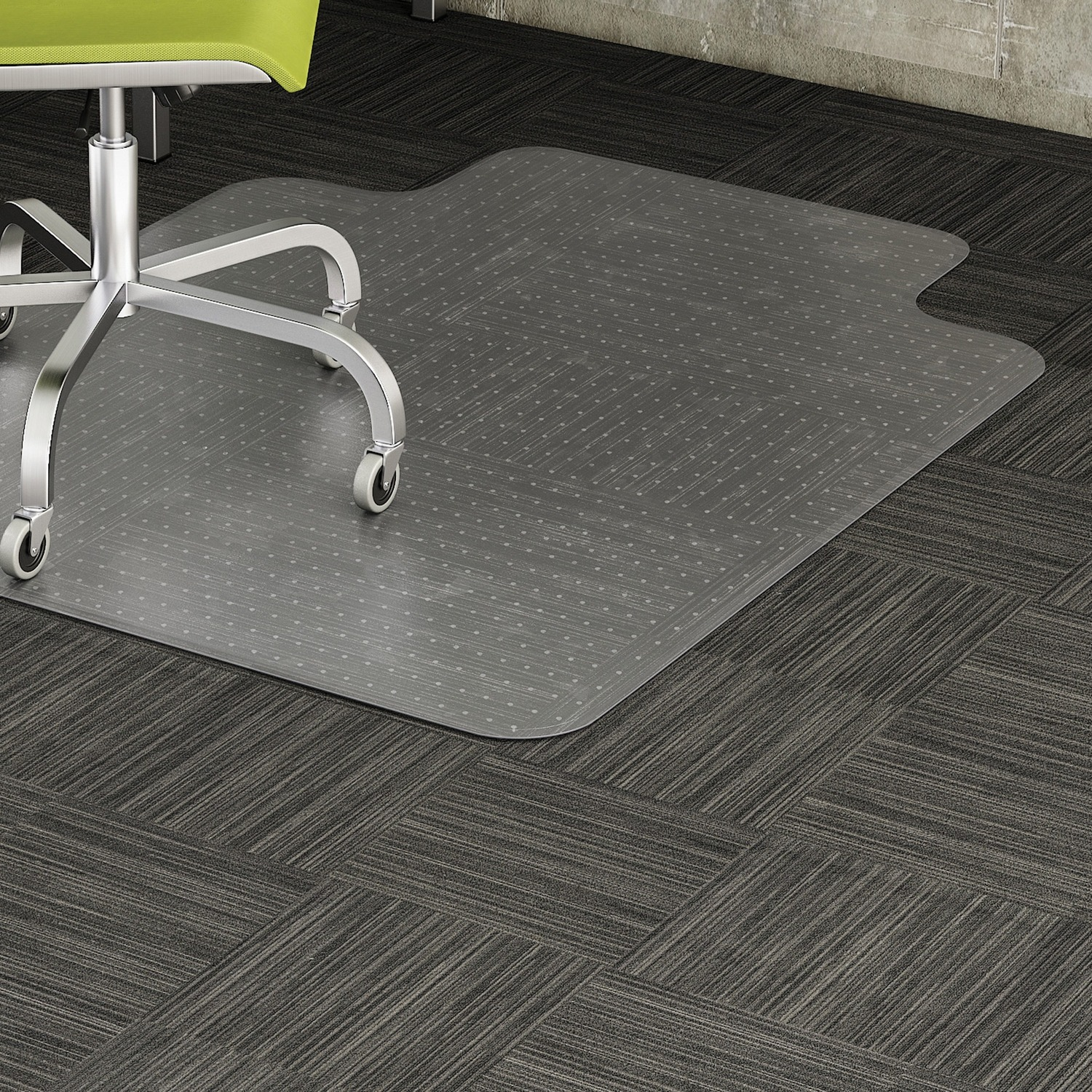 Lorell Wide Lip Low Pile Chairmat Grand Amp Toy