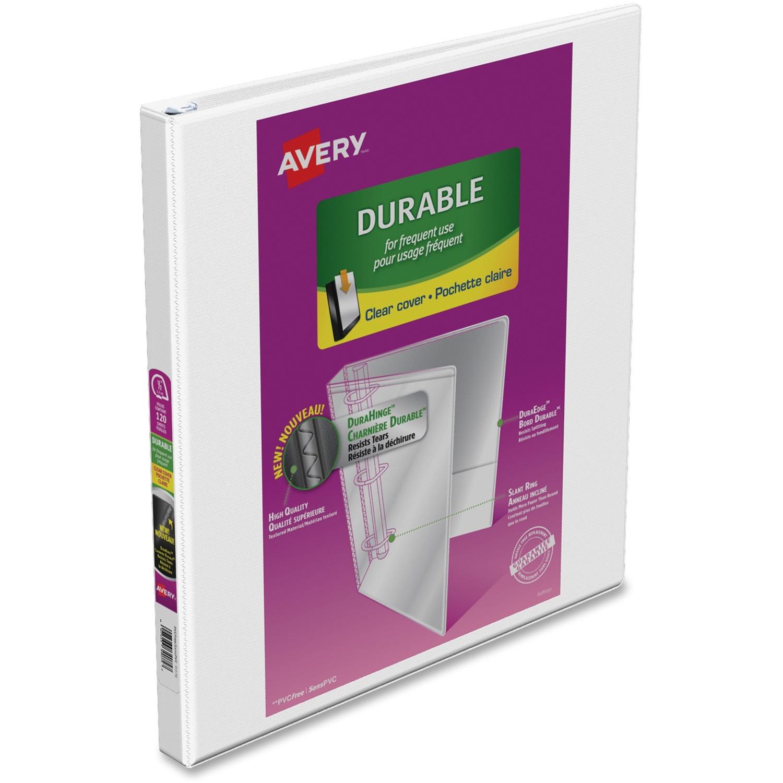 Avery® Durable View Slant-D Presentation Binder