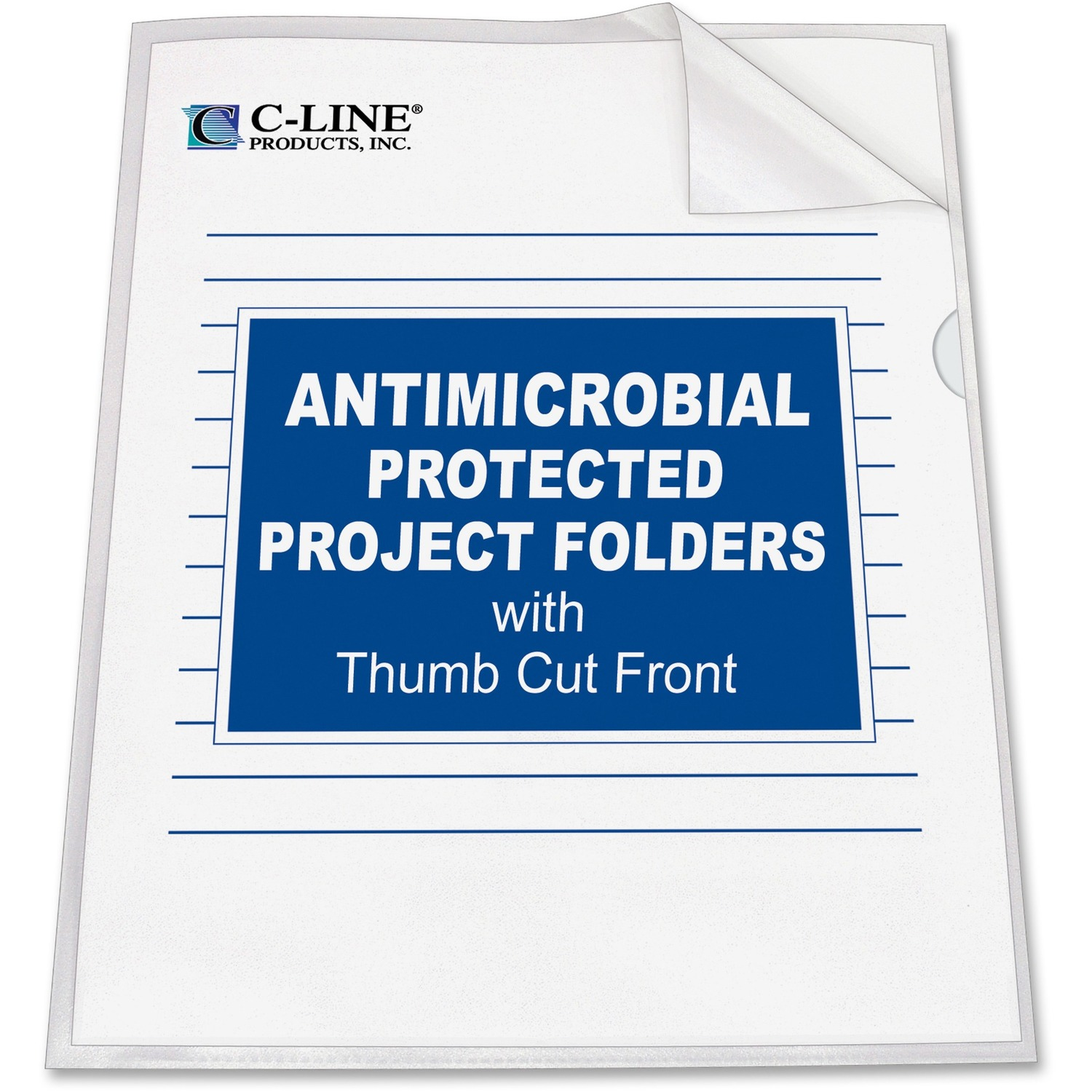 C Line Antimicrobial Project Folders Grand Amp Toy