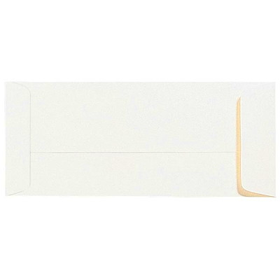 Quality Park White #10 Wove Open-End Recycled Policy Envelopes  24LB BX/500 30% POST-CONSUMER WASTE