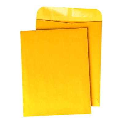 Grand & Toy Heavy Mailing Recycled Kraft Envelopes  OPEN END 50% RECYCLED 500/CT 20% POST CONSUMER CONTENT