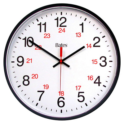 horloge murale lectronique 12 24 heures bates grand toy. Black Bedroom Furniture Sets. Home Design Ideas