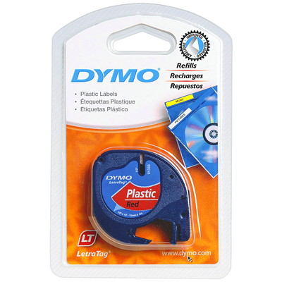 DYMO LetraTag Refill Label Tape 12MM PLASTIC DYMO