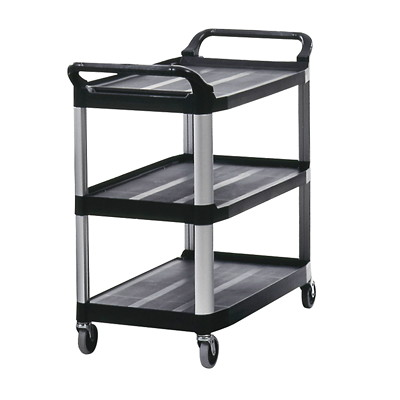 Rubbermaid Xtra Service Cart UTILITY CART  OPEN SIDED