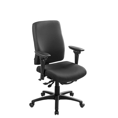 uCentric Ergonomic Mid-Back Multi-Tilter Chair CHAIR WITH LARGE SEAT