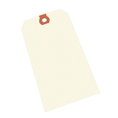 Crownhill Packaging Blank Shipping Tags WHITE 2-3/4X1-3/8