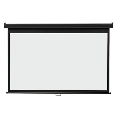 Quartet Wide-Format Wall Mountable Projection Screen WALL MOUNT - 65