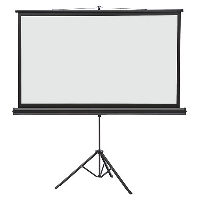 Quartet Wide-Format Projection Screen with Tripod Base TRIPOD BASE - 45