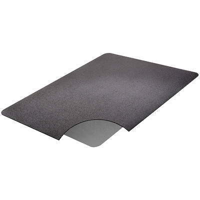 Deflecto Ergonomic Sit-Stand Rectangle Chairmat  BLACK SS