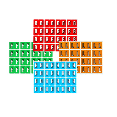Pendaflex Colour-Coded Alphabetic Labels, Letter L, Light Brown, 240 Labels/PK DATAFILE COMPATIBLE MYLAR LAMINATED