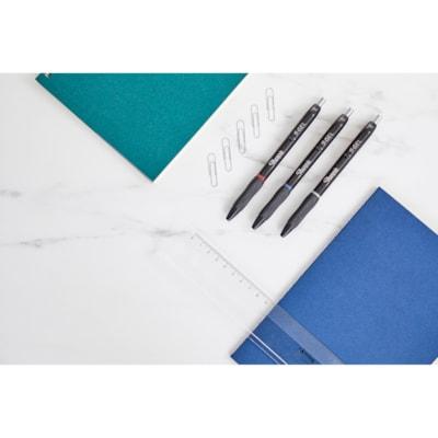 Stylos à pointe rétractable S-Gel Sharpie, couleurs variées, pointe moyenne de 0,7 mm, emb. de 4