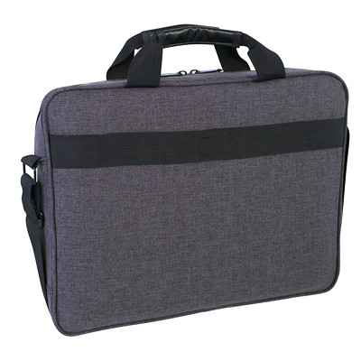 "Roots Laptop Case, RFID Pocket, Grey, Fits Laptops up to 15.6"" (RTS3400D) W/TABLET POCKET GREY"