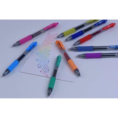 Zebra Sarasa Retractable Gel Pen, Blue, Fine 0.5 mm, 12/PK   BLUE  FINE 0.5MM ACID-FREE  ARCHIVAL