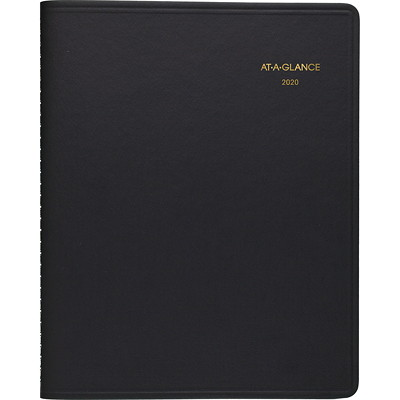 AT-A-GLANCE TRIPLE VIEW WEEKLY APPOINTMENT BOOK 11.375X9.625 BLACK ENGLISH   30% PCW