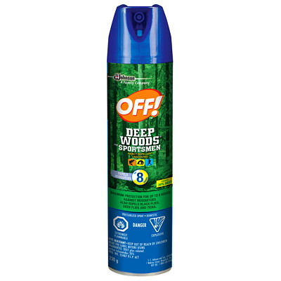 Off! Deep Woods Insect Repellent, 230 g Aerosol Spray  230G / INSECT REPELLENT