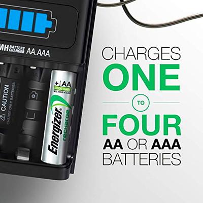 Chargeur de piles AA et AAA 1 heure Energizer A/4AA 2000MAH