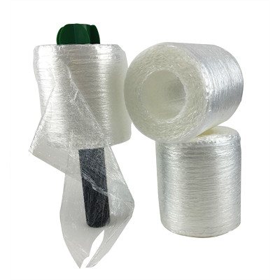 "Spicers Coreless PreStrech Hand Wrap, Clear, 5"" x 1,000', 3/PK 5"" X 1000'  3PKS W/HANDLE INCLUDES HANDLE"