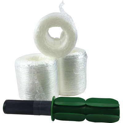 "Spicers Coreless PreStrech Hand Wrap, Clear, 5"" x 1,000', 12/CT 5"" X 1000'  12ROLLS/CASE INCLUDES HANDLE"