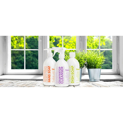 Sapadilla Liquid Hand Soap, Sweet Lavender and Lime, 354 mL   LAVENDER & LIME 12 OZ 100% PURE ESSENTIAL OIL BLEND