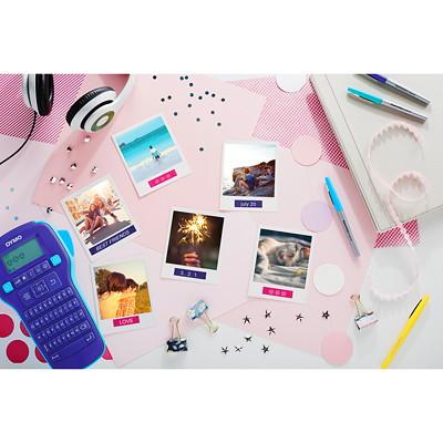 "DYMO ColourPop D1 Tape, White Type/Purple Label, 12 mm x 3 m (1/2"" x 10')"