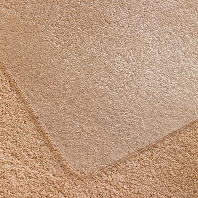 Tapis antistatique pour moquettes à poils longs UltiMat Floortex, transparent, 48pox 53po FLOORTEX