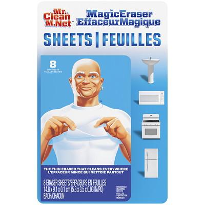 Mr. Clean Magic Eraser Sheets, 8 Sheets/PK  8 SHEETS PER PACK