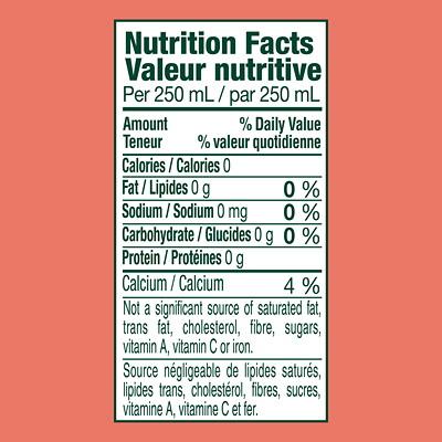 Perrier Sparkling Water, Natural Pink Grapefruit Flavour, Slim Cans, 250 mL, 10/PK GRAPEFRUIT 10 X 250ML