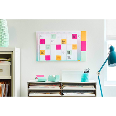 """Post-it 3"""" x 3"""" Pop-Up Notes Mint Dispenser with Pink Notes INCL. 90 3""""X3"""" NOTES IN PINK"""