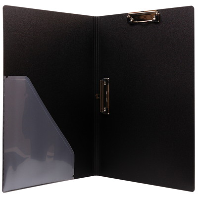 "VLB Duraply Tabloid-size (11"" x 17"") Clipboard Portfolio 3 PLY POLY WITH 2 CLIPS PVC FREE"