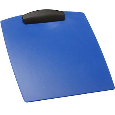 Storex Heavy-Duty Poly Clipboard, Blue, Letter Size LETTER