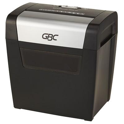 "GBC ShredMaster PX08-04 Shredder, Cross-Cut, 8-Sheet Capacity, P-3 Level P-3. 9"" THROAT. 4 GAL. 3MINSON/60MINSOFF."