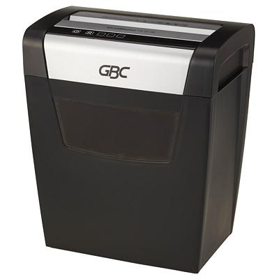 "GBC ShredMaster PX10-06 Shredder, Cross-Cut, 10-Sheet Capacity, P-4 Level P-4.9""THROAT.6GAL.FRONT FACING 6MINSON/60MINSOFF."