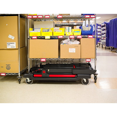 Rubbermaid Commercial Convertible Utility Cart and Platform Truck, Black, 400 lb Load Capacity