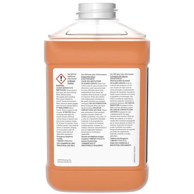 Nettoyant neutre non parfumé Stride Citrus HC Diversey, 2,5l J-Fill, caisse de 2