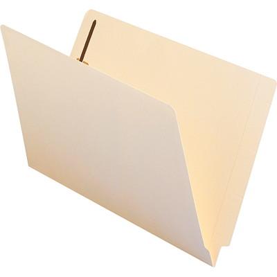 Smead End Tab Fastener File Folder, Manila, Legal-size, 50/BX SHELF-MASTER STRAIGHT-CUT TAB LEGAL SIZE/MANILA