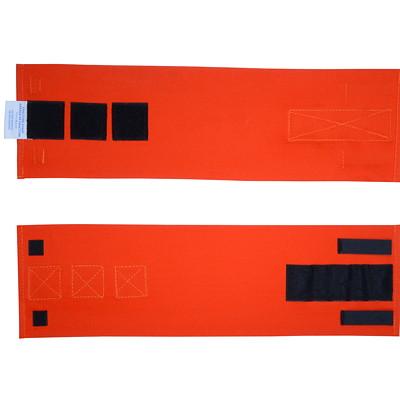 """SAFECROSS Fracture Straps, 6"""" x 20"""", 2/PK 15.2X48.3CM"""