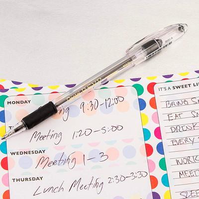 Pentel R.S.V.P. Ballpoint Stick Pens, Black, Medium 1.0 mm, 12 EA/BX RUBBER GRIP REFILLABLE STAINLESS STEEL TIP